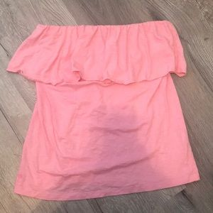 LILLY PULITZER STRAPLESS TOP SIZE L